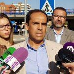 El PSOE propone medidas para mejorar la seguridad de los peatones en Cuatro Caminos