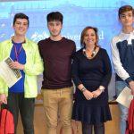 Tres alumnos del Liceo Caracense ganan la fase provincial de la IX Olimpiada de Geología celebrada hoy en Guadalajara
