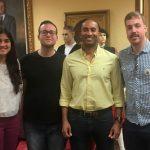 La nueva asociación de sordos de Guadalajara muestra al Ayuntamiento la problemática diaria de este colectivo