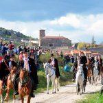 La Caballada de Atienza se acerca a Guadalajara este sábado 27 de abril