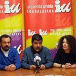 Torrubiano, candidato de IU-Podemos a las autonómicas, y Morales y Pérez Salazar para los ayuntamientos de Guadalajara y Azuqueca