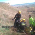 Rescatado el cadáver de un parapentista accidentado en La Muela de Alarilla