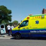 Muere un hombre que se sintió indispuesto junto al Hospital de Guadalajara a pesar de que una ambulancia llegó para socorrerle