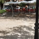 Sanz acusa al anterior equipo de Gobierno de abrir el parque de la Concordia sin estar concluido «con fines electoralistas»