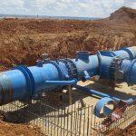 Concluidas las obras del 'bypass' entre Beleñá y Alcorlo que garantizará el suministro de agua aunque haya cortes en dos de las tres grandes tuberías de la MAS