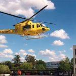 Trasladan en helicóptero hasta un hospital de Madrid a un niño de dos años que cayó a una piscina en Uceda y que pudo ser reanimado con maniobras de RCP