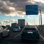 Atención a todos los conductores del Corredor del Henares: Se esperan grandes atascos de entrada a Madrid el lunes 14 debido a la lluvia