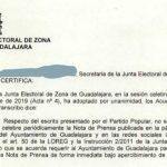 La Junta Electoral dice que el Ayuntamiento de Guadalajara 'infringió' la ley electoral al presentar las Ferias del Mercado de Abastos