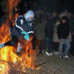 Las Hogueras de la Purísima volvieron a arder en la noche de Horche