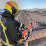 Numerosas intervenciones de los bomberos en la provincia de Guadalajara por los vientos asociados a la tormenta 'Gloria'