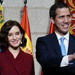 Díaz Ayuso ejerce de anfitriona Juan Guaidó en España ante el desplante de Sánchez: «Madrid es el refugio de la libertad»