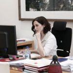 Díaz Ayuso pide a Sánchez que deje de mentir y de atacar a la Comunidad de Madrid, «mucho más previsora que él en la lucha contra el coronavirus»