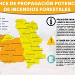 Alto peligro de incendio forestal en la provincia de Guadalajara por las altas temperaturas este lunes 6 de julio
