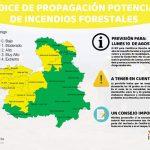 La bajada de temperaturas hace que media provincia de Guadalajara tenga menos riesgo de incendio forestal este lunes 10 de agosto