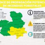 Sigue el riesgo moderado de incendio forestal en la provincia de Guadalajara este 14 de agosto a pesar de la subida de temperaturas