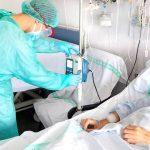 Los pacientes ingresados por COVID en el hospital de Guadalajara bajan de 89 a 82 en 24 horas, día en el que no se ha registrado ningún fallecido por esta infección en la provincia, a fecha 23 de abril