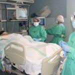 145 pacientes siguen ingresados por COVID en el hospital de Guadalajara, 22 de ellos en la UCI, con 2 fallecidos en las últimas 24 horas a fecha 26 de enero