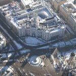 Así se ve Madrid desde un helicóptero de los bomberos, una semana después de la gran nevada de 'Filomena'
