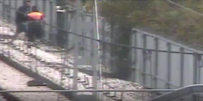 Agredir y causar lesiones a un vigilante de seguridad sale caro: Condenado un grafitero a un año de cárcel