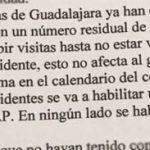 La Junta elimina el test previo de antígenos para visitar a los ancianos en las residencias, pero no elimina la orden del coordinador del Sescam en Guadalajara que prohíbe las visitas a los que, por la causa que sea, no se han vacunado