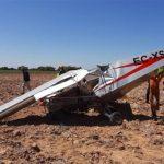 Herido un hombre de 64 años tras caer la avioneta que pilotaba durante el despegue en el aérodromo de Robledillo de Mohernando