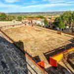 Todo listo en el palenque medieval de Hita para celebrar, 14 años después, un festejo taurino este domingo 20 de junio