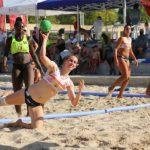 La alcarreña Mónica Cámara, medalla de bronce en 'Balonmano playa': forma parte de la selección española que acaba de disputar el Campeonato de Europa en Bulgaria