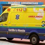 Trasladan al hospital a dos trabajadores que se cayeron desde el andamio de una obra situado a 3 metros de altura en el municipio alcarreño de Centenera